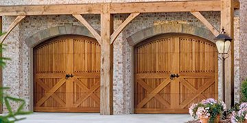 Wood Carriage House Doors