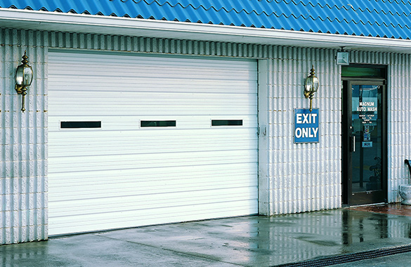 Commercial Sectional Garage Doors Houston Austin Tx