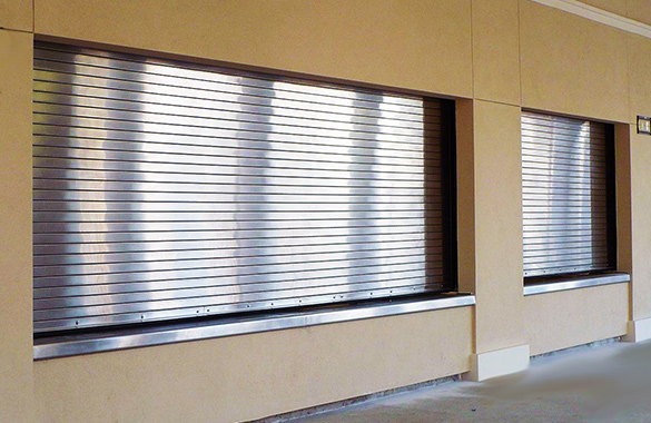 Rolling Counter Shutters Houston Austin Tx Abc Doors
