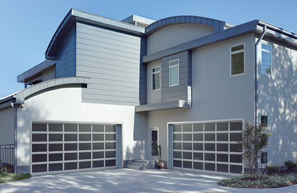 Aluminum Glass Garage Doors Houston Austin Tx Abc Doors
