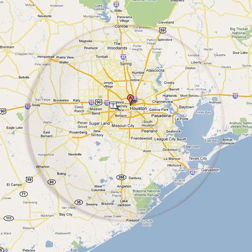Houston Area Bing Images